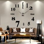 : Large wall clock with best wall clocks for living room with wall clocks with large statement wall clocks
