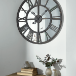 : Large wall clock with buy wall clock online with contemporary clocks with unique kitchen wall clocks