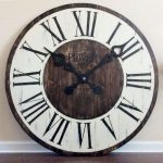 : Large wall clock with clock oversized with oversized wall clock with extra large iron wall clock with round wall clocks
