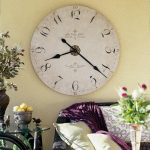: Large wall clock with extra large clock with large wall clock with large vintage wall clocks