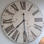 : Large wall clock with extra large wall clock with very large wall clocks for sale with small round wall clock