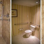 : ADA bathroom be equipped ada accessible restroom be equipped toto comfort height toilet