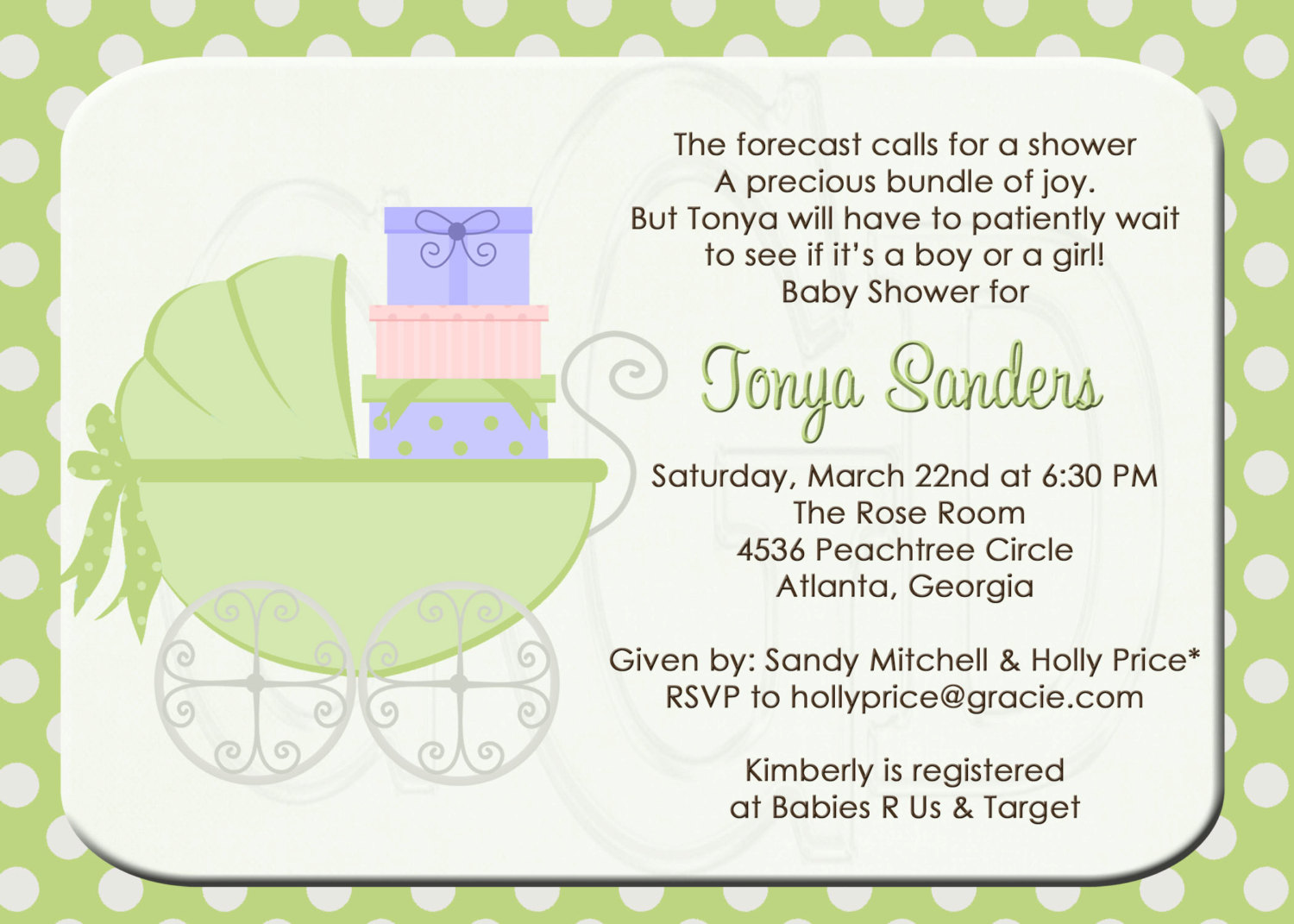 Baby Shower Invitation Wording You Can Look Invitations