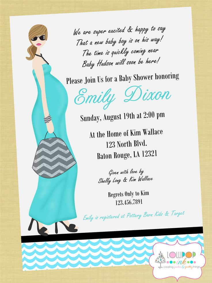 Baby Shower Invitation Wording Guideline To Help You Write Yours