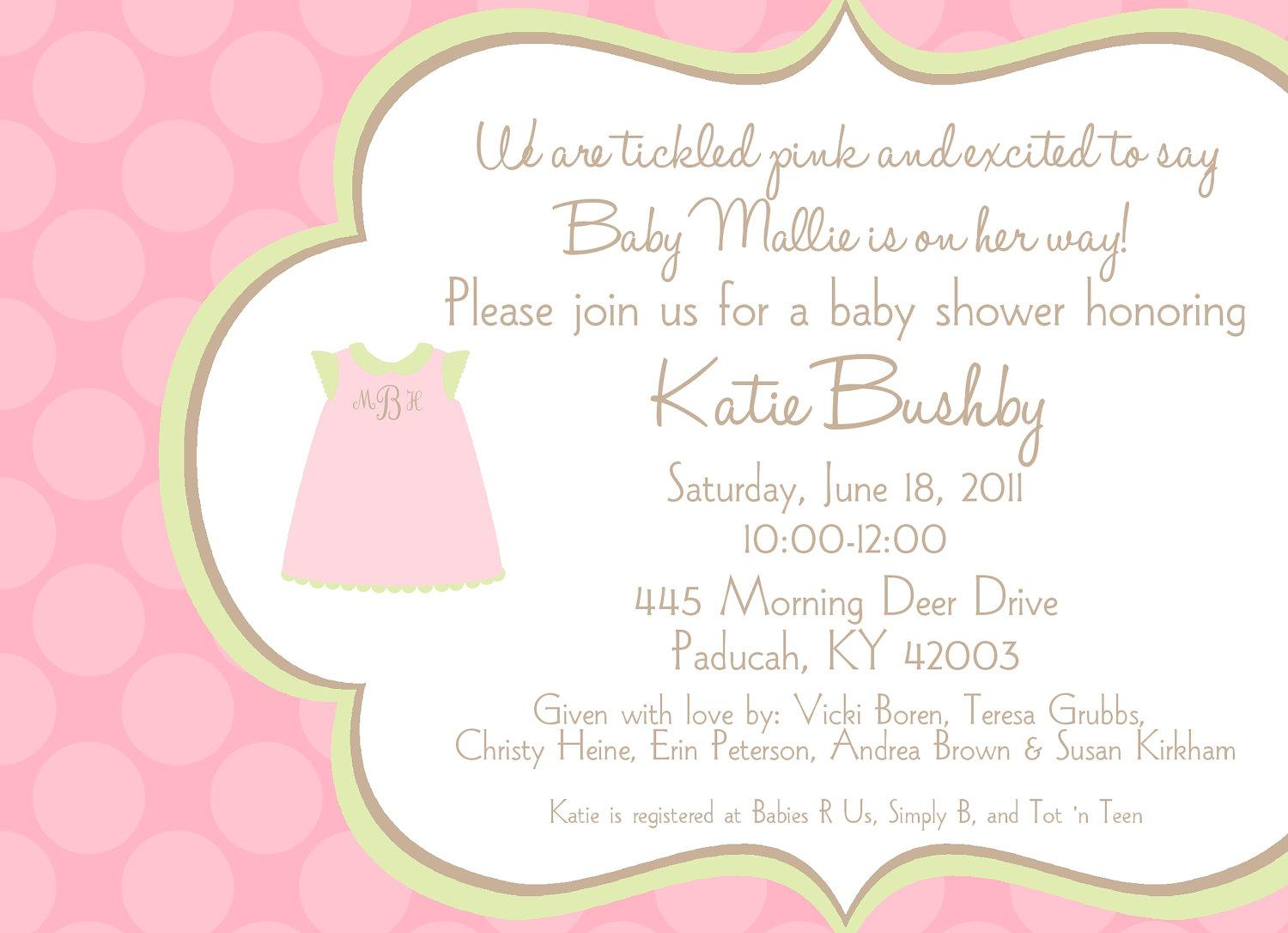 Baby Shower Invitation Wording You Can Look Tea Party Baby Shower Invitations You Can Look Baby Girl Shower Invitation Wording Baby Shower Invitation Wording Guideline To Help You Write Yours