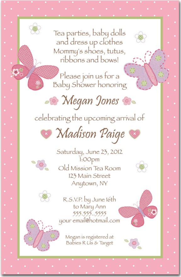 baby shower invitation wording guideline to help you write