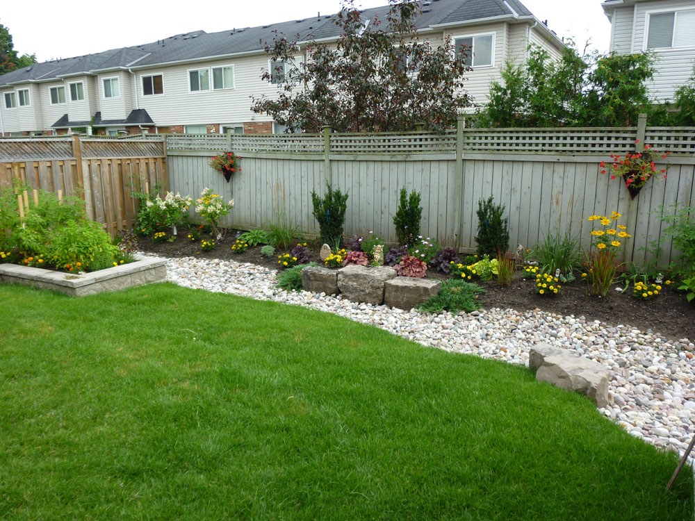 Backyard landscaping you can look low maintenance landscaping you can look landscape design plans backyard