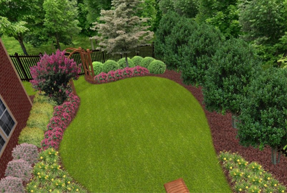 Backyard landscaping you can look simple landscaping ideas you can look residential landscape design