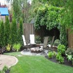 : Backyard landscaping you can look small yard landscaping you can look contemporary garden design