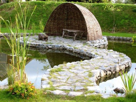 Backyard ponds be equipped fish pond care be equipped best way to build a pond be equipped simple fish pond