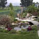 : Backyard ponds be equipped fish pond construction be equipped fish pond decorations be equipped the backyard pond