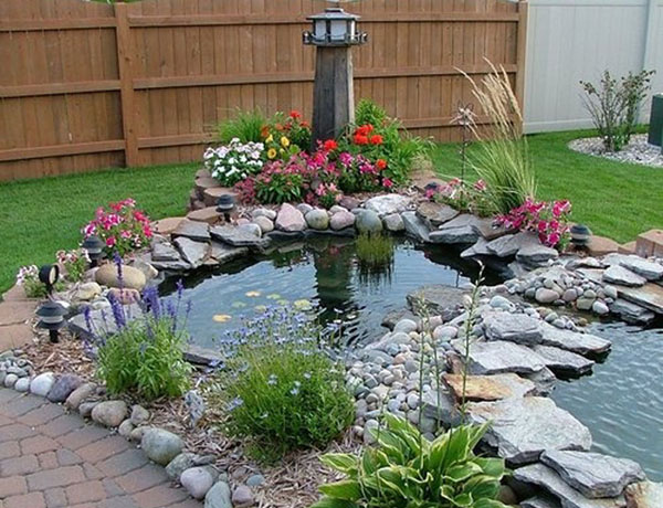 Backyard ponds be equipped garden pond design and construction be equipped koi pond garden be equipped small koi pond design