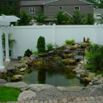 : Backyard ponds be equipped home fish pond be equipped fish pond installation be equipped backyard pond landscaping