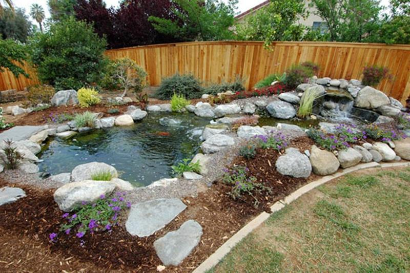 Backyard ponds be equipped home ponds and waterfalls be equipped backyard ponds and fountains