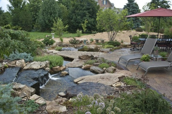 Backyard ponds be equipped how to build a pond in your backyard be equipped how to make a small fish pond