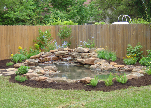 Backyard ponds be equipped outside water ponds be equipped small garden pond ideas be equipped home pond designs