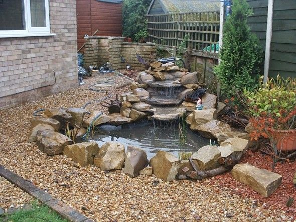 Backyard ponds be equipped small koi fish pond be equipped small backyard koi pond be equipped artificial pond