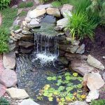 : Backyard ponds be equipped small round pond liner be equipped cement koi pond be equipped how to make a homemade pond