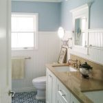 : Beadboard bathroom with beadboard cabinets diy with beadboard bathroom pictures with menards bathroom paneling