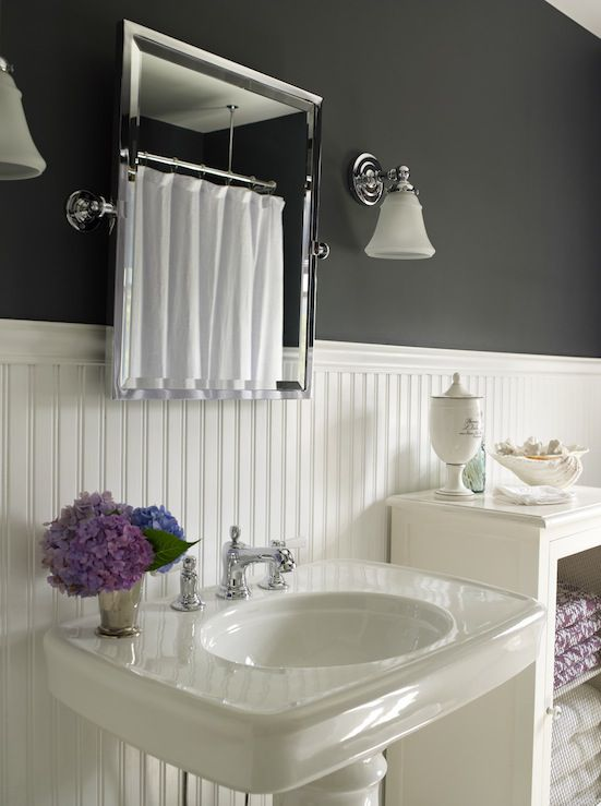 Beadboard bathroom with beadboard shower wall panels with paintable beadboard paneling with bathroom paneling ideas