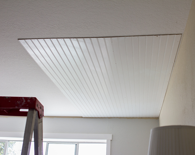 Beadboard ceiling and diy beadboard wainscoting and beadboard porch ceiling ideas
