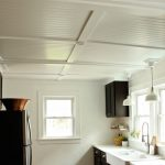: Beadboard ceiling with beadboard ceiling kitchen with oak beadboard paneling with drop ceiling tiles 2×4