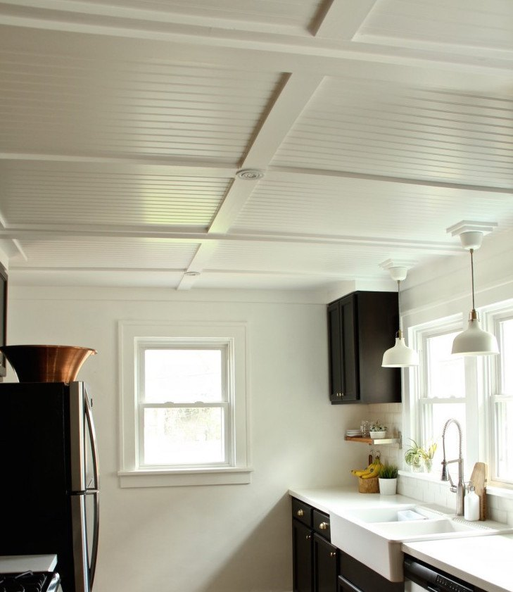 Beadboard ceiling with beadboard ceiling kitchen with oak beadboard paneling with drop ceiling tiles 2x4