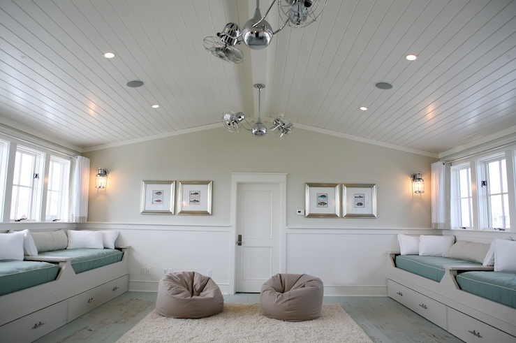 Beadboard ceiling with beadboard drop ceiling for basement with beadboard wainscoting ideas