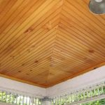 : Beadboard ceiling with beadboard trim molding with ceiling board installation