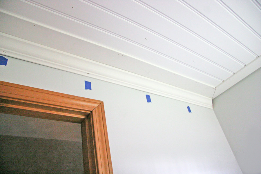Beadboard ceiling with coffered ceiling kits with tongue and groove beadboard ceiling
