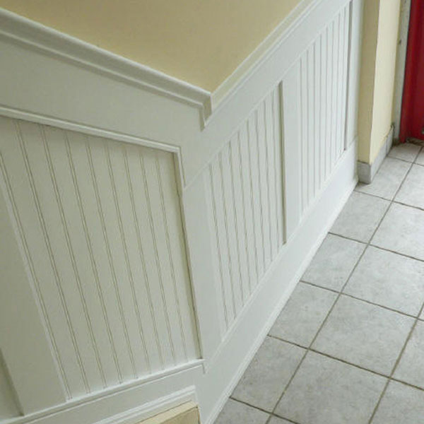 Beadboard paneling and also installing paneling and also wainscoting with paneling and also real wood wainscoting