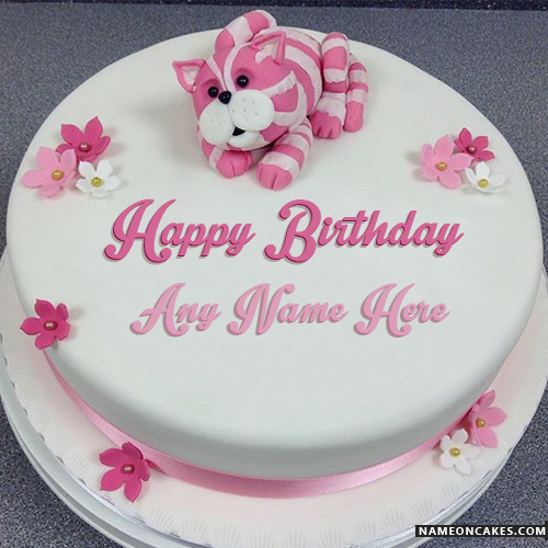 Beautiful Birthday Cakes And Also Write Happy On Cake Best
