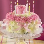 : Beautiful birthday cakes and also small birthday cake and also first birthday cakes for girls and also unusual birthday cakes
