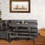 : Breakfast nook table with breakfast nook dimensions with kitchen nook booth seating with small breakfast area ideas