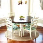 : Breakfast nook table with pine breakfast nook with corner dinner table set with banquette nook dining sets