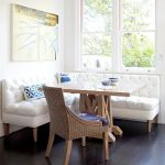 : Breakfast nook table with small breakfast nook bench with breakfast corner bench with nook style dining room sets