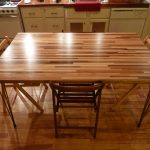 : Butcher Block Table with butcher block dining room table with maple butcher block table