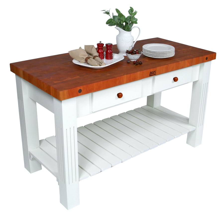 Butcher Block Table with butcher block furniture with walnut butcher block countertop