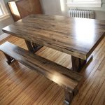 : Butcher Block Table with butcher block island countertop with small butcher block island
