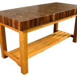 : Butcher Block Table with butcher block island table with maple butcher block