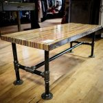 : Butcher Block Table with butcher block kitchen countertops with large butcher block table