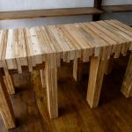 : Butcher Block Table with butcher block kitchen island table with butcher block buffet table