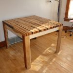 : Butcher Block Table with butchers chopping table with custom butcher block table