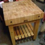 : Butcher Block Table with kitchen island bench butchers block with wood block kitchen countertops