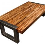 : Butcher Block Table with large butcher block island top with used butcher block top with pipe butcher block table