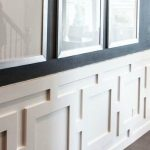 : Chair rail molding with chair rail and wainscoting ideas with how to end chair rail on open wall