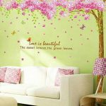 : Cherry blossom wall decal with cherry blossom stickers with cherry blossom wall decor