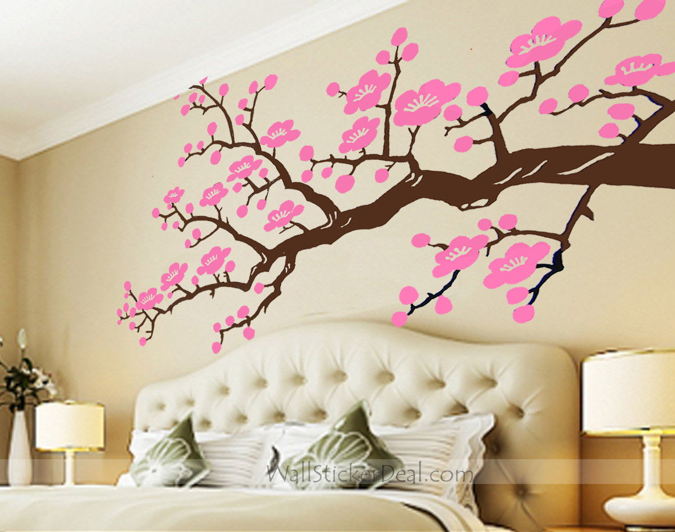 Cherry blossom wall decal with cherry blossom wall appliques with farm wall decals with wall stickers for bedrooms