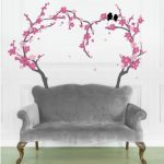 : Cherry blossom wall decal with vinyl wall decals quotes with cherry blossom window decal