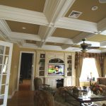 : Coffered ceiling be equipped drop ceiling planks be equipped faux drop ceiling tiles be equipped moulded ceiling panels